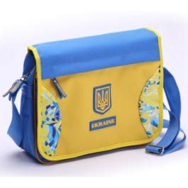 Сумка через плечё | С515 | «Ukraine» Голубая
