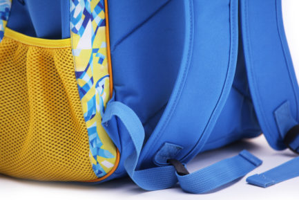 Рюкзак спортивный | Р379 | «Ukraine» Жёлто синий