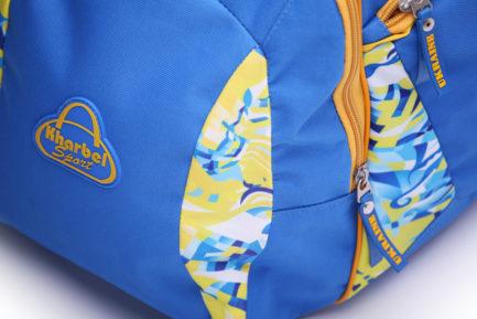 Сумка спортивная | С514 | «Ukraine» Жёлто синий