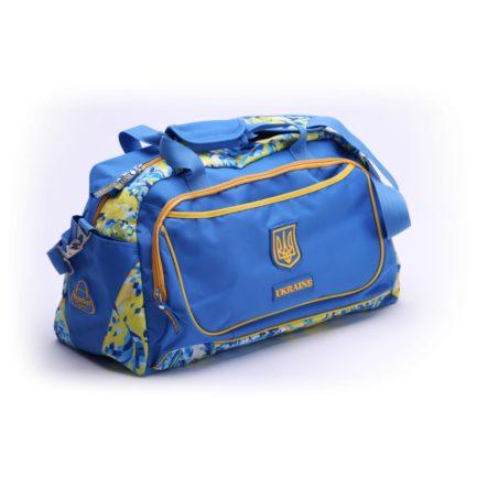 Сумка спортивная | С517 | «Ukraine» Жёлто синий