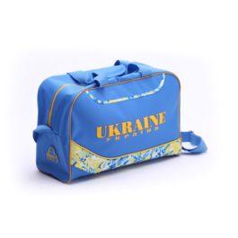 Сумка через плечё | С380 | «Ukraine» Голубая