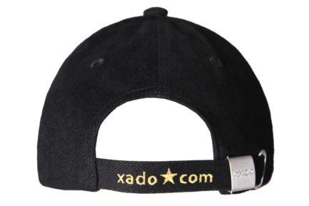 Бейсболка   «XADO» Черно — золотая   Образец   На заказ