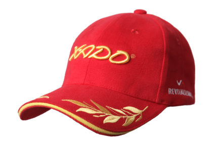 Бейсболка | «XADO» Красно — золотая | Образец | На заказ