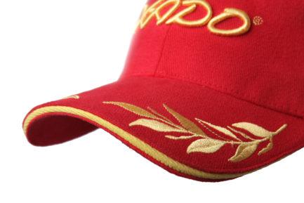 Кепка | «XADO» Красно — золотая | Образец | На заказ